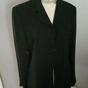 Jones New York black 3 button blazer - size 12